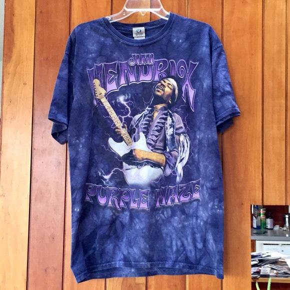 98e9d542f33a7 Vintage Jimi Hendrix Purple Haze Tie Dye Tee